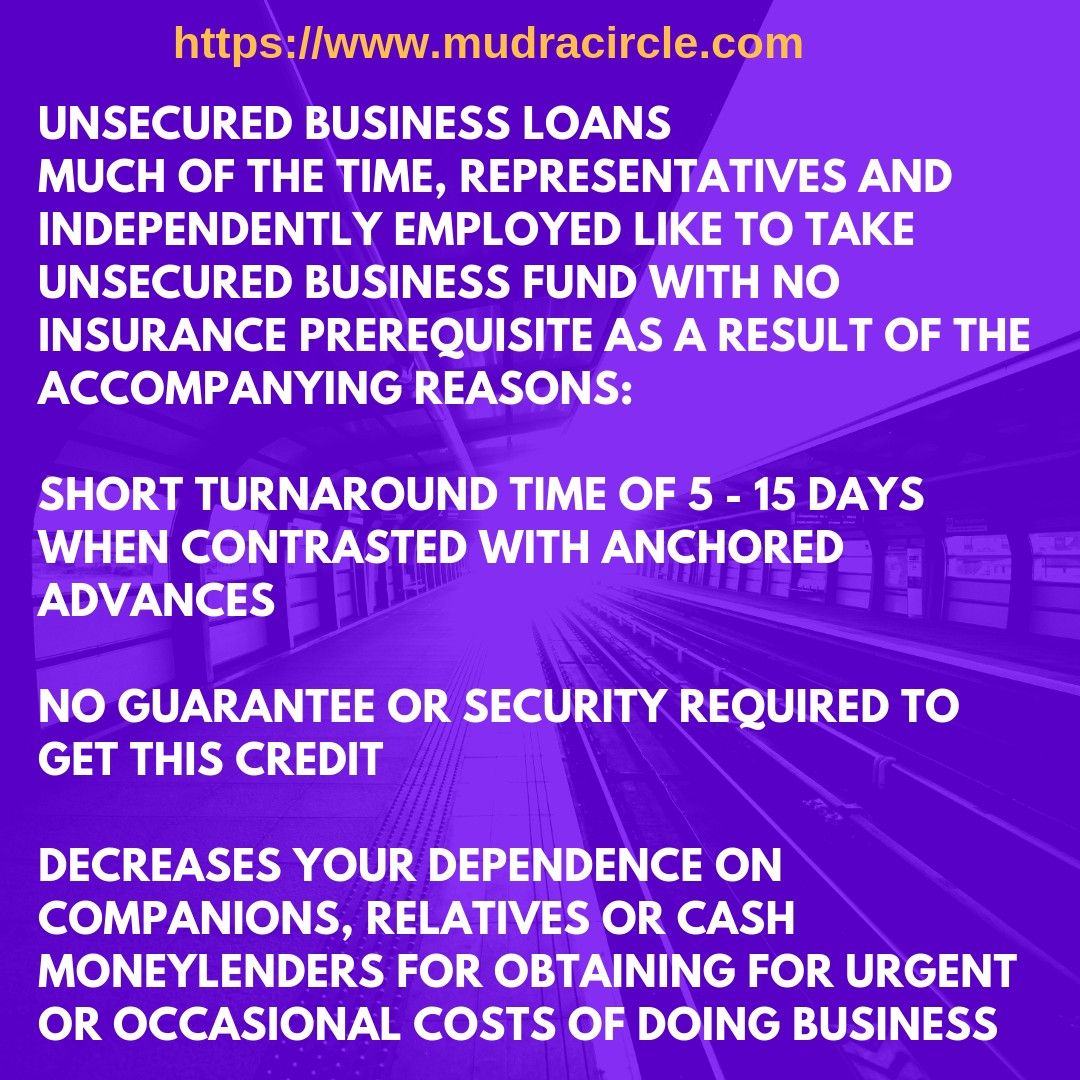 Unsecured Business Loans Much Of The Time Representatives And Independently Employed Like To Take Unsecured Business Fu Business Funding Business Loans