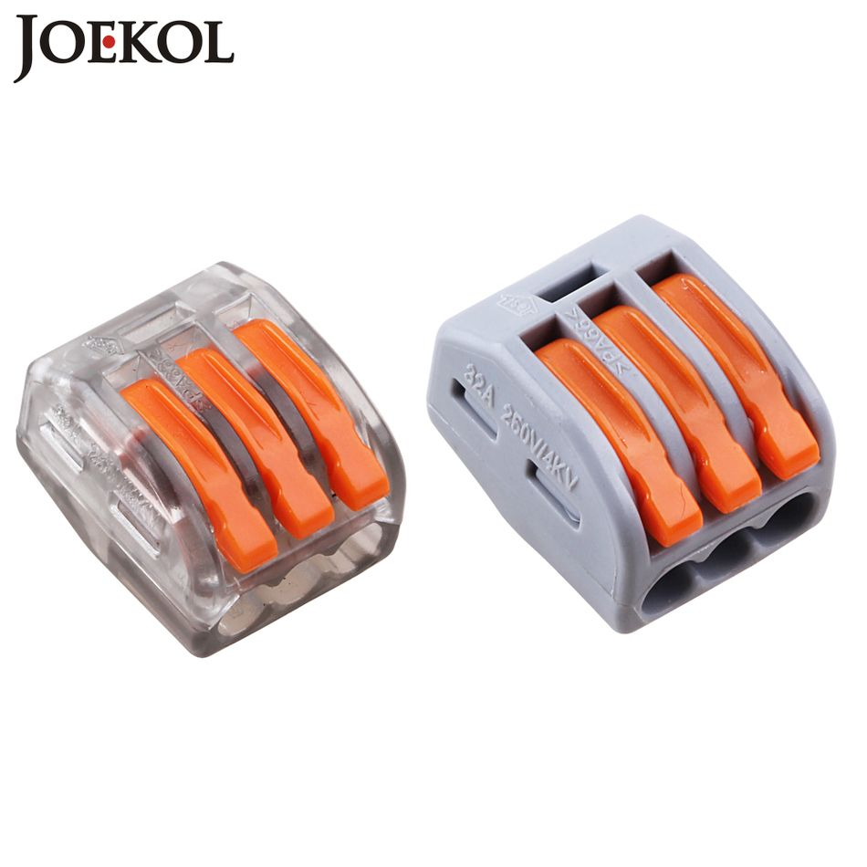 10 Wago 222 413 Pct213 Wiring Demarcation Block Cheap Connector F Buy Quality 3 Directly From China Terminal Blocks Wire Suppliers Mini Fast Universal Compact