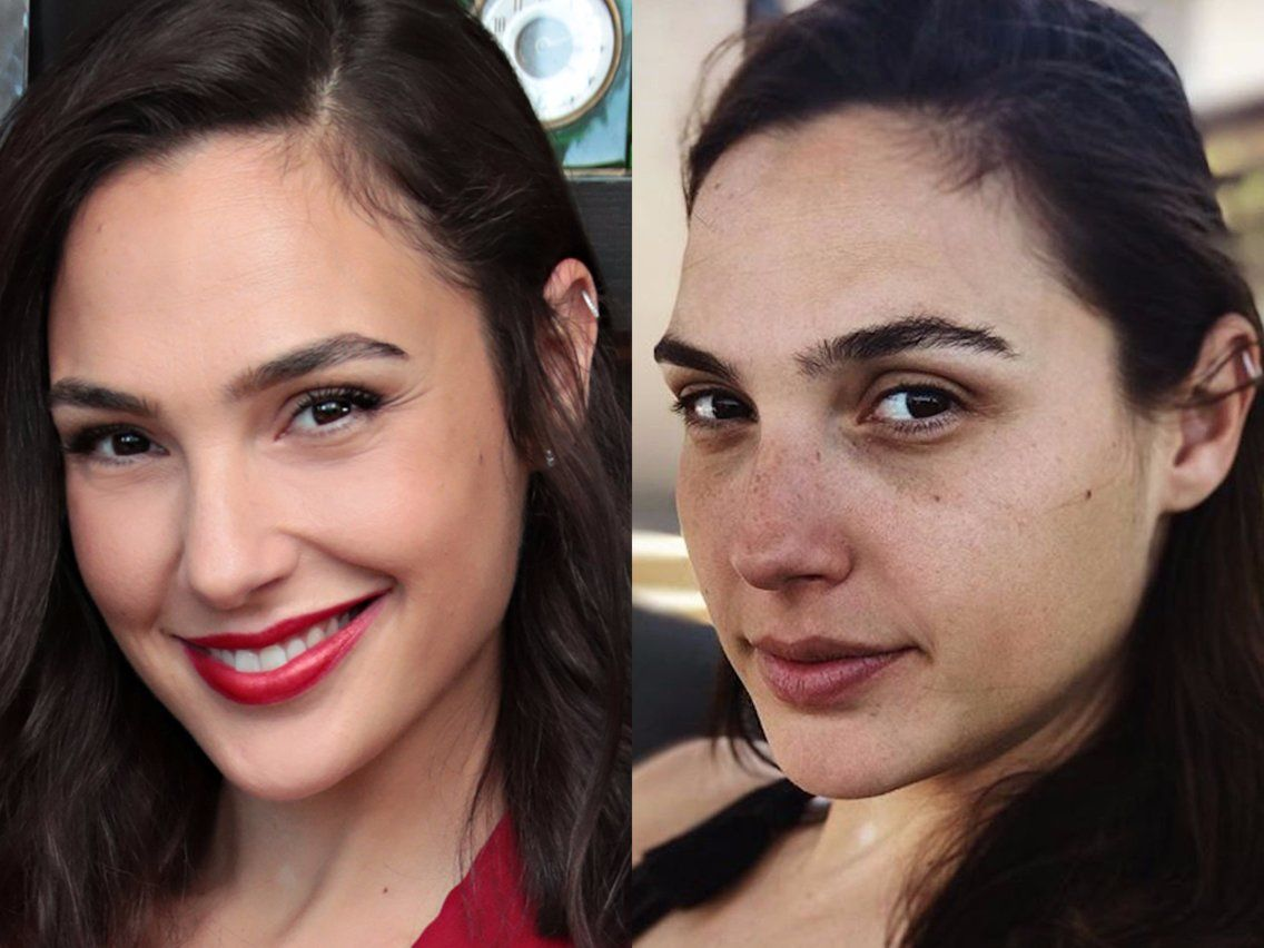 What 48 actresses look like without makeup