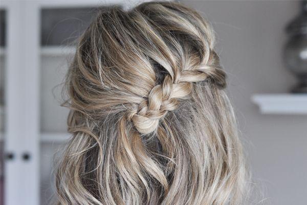 The Fold Over Braid Hair Tutorial