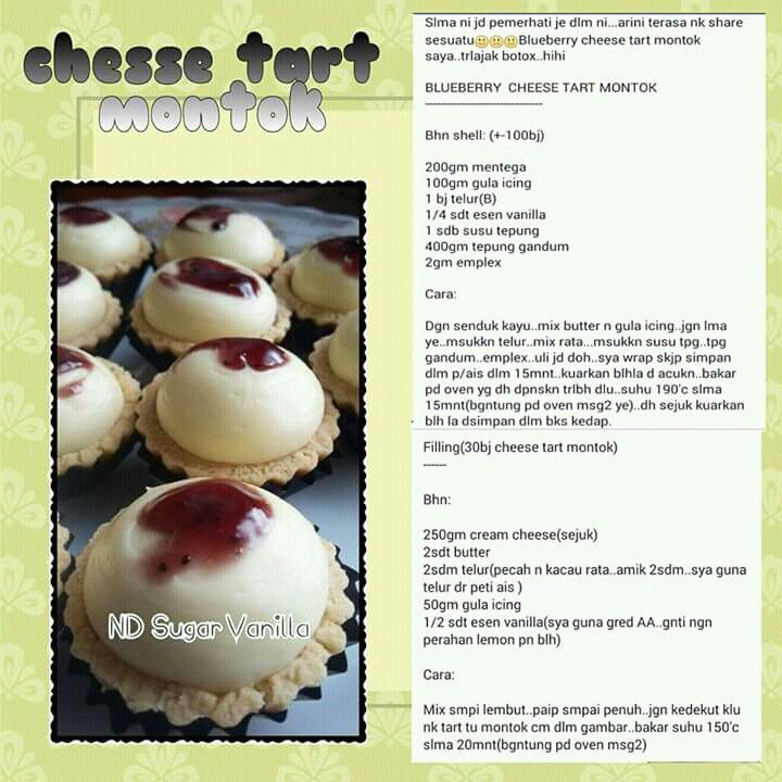 Cheese Tart Cheese Tarts Pastry Pie Biscuit Recipe