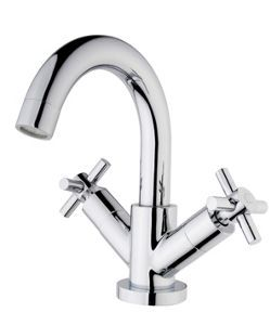 Wickes Trivor Basin Mixer Tap Chrome Wickes Co Uk Basin Mixer Taps Basin Mixer Mixer Taps