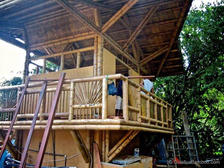 Bamboo House Playa Sombrero — Guadua Bamboo Bamboo house
