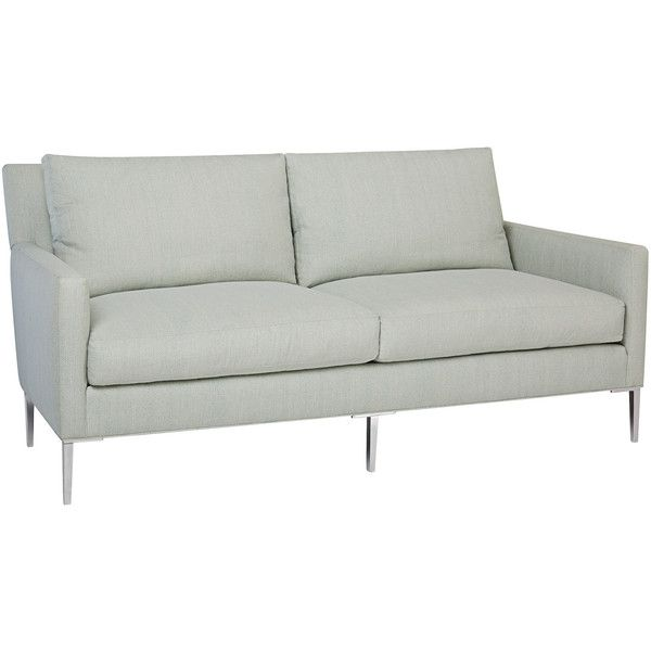 Quinten Apartment Sofa 3 160 Liked On Polyvore Featuring