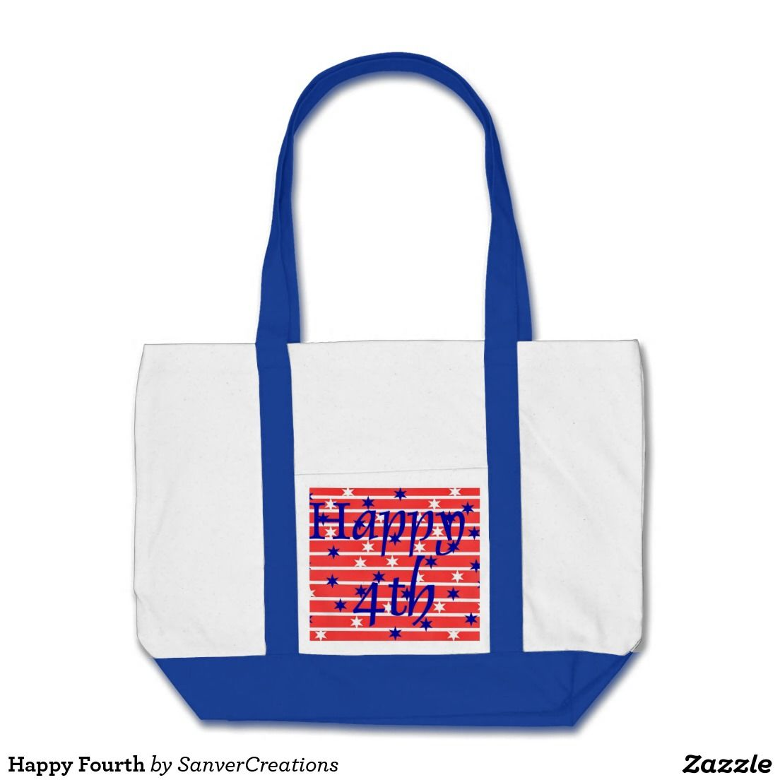 Happy Fourth Tote Bag