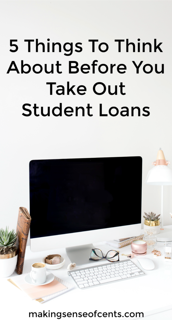 Take Out Loans For College