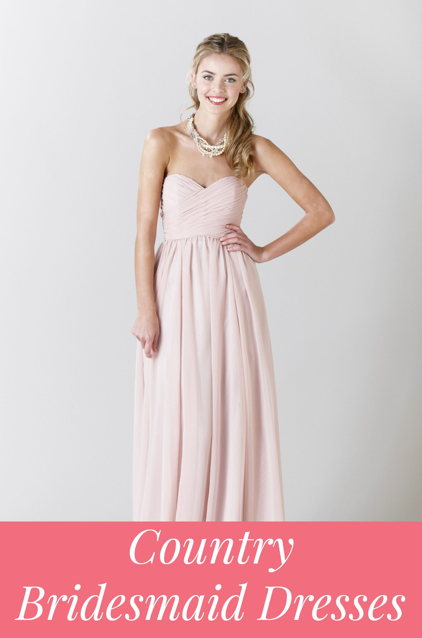Country Bridesmaid Dresses & Trends