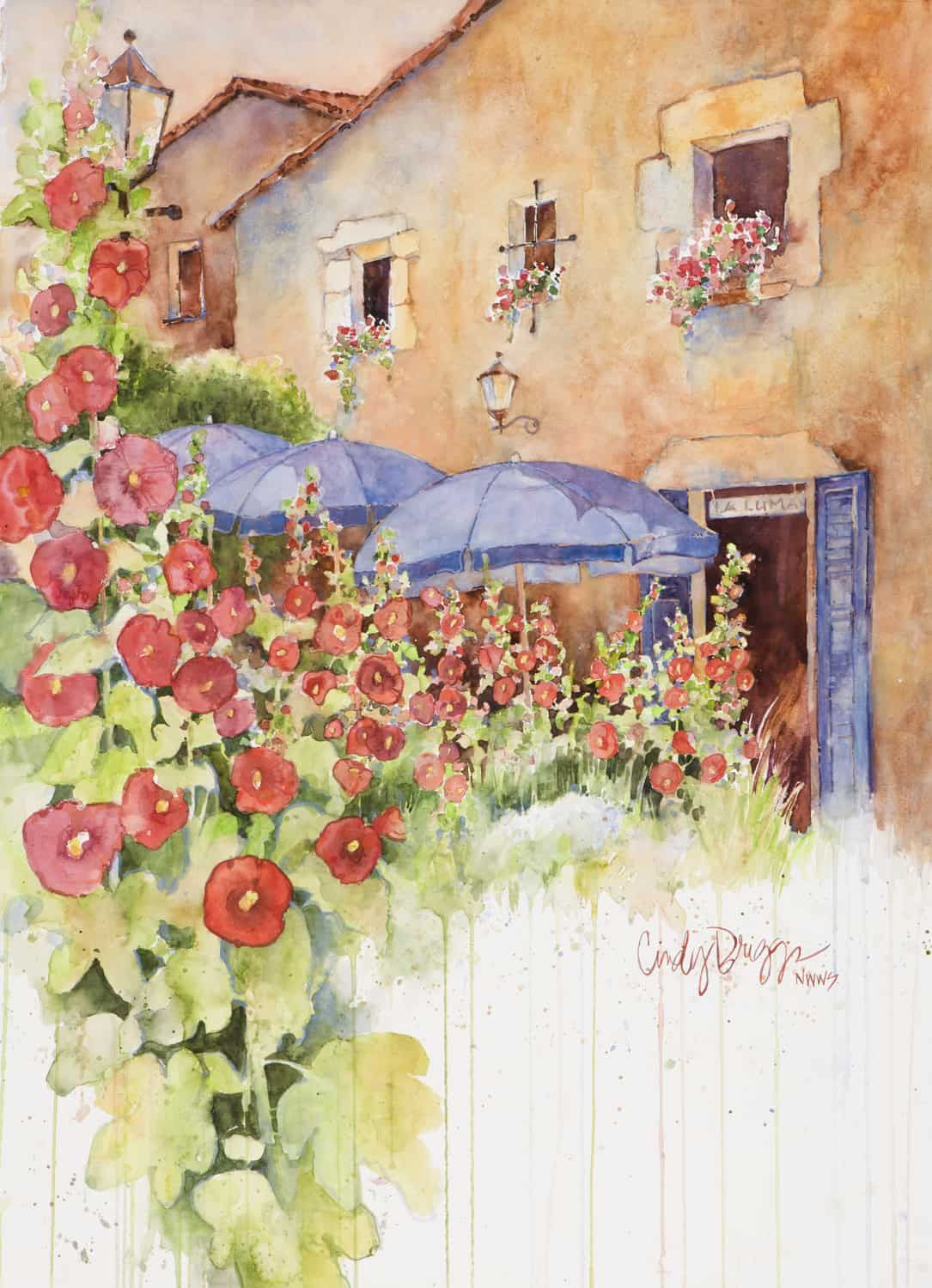 Shades Of Spain Tossa De Mar Art Workshop Art Painting