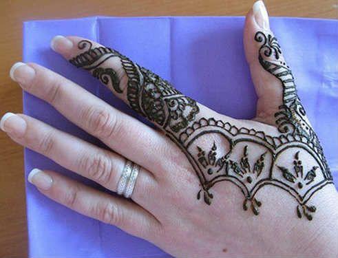 Mehndi Equals Henna : Mehndi design henna art: short simple hand no 10