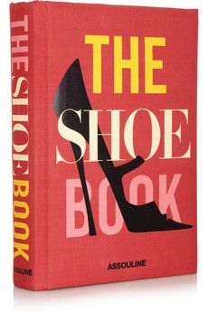 Assouline The Shoe Book by Nancy MacDonell hardcover book | NET-A-PORTER