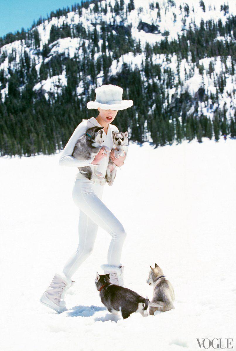 Photos: Winter in Vogue