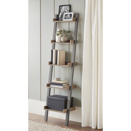 10 spring street bedford narrow leaning bookcase multiple colors rh pinterest co uk narrow ladder shelves uk narrow oak ladder shelves