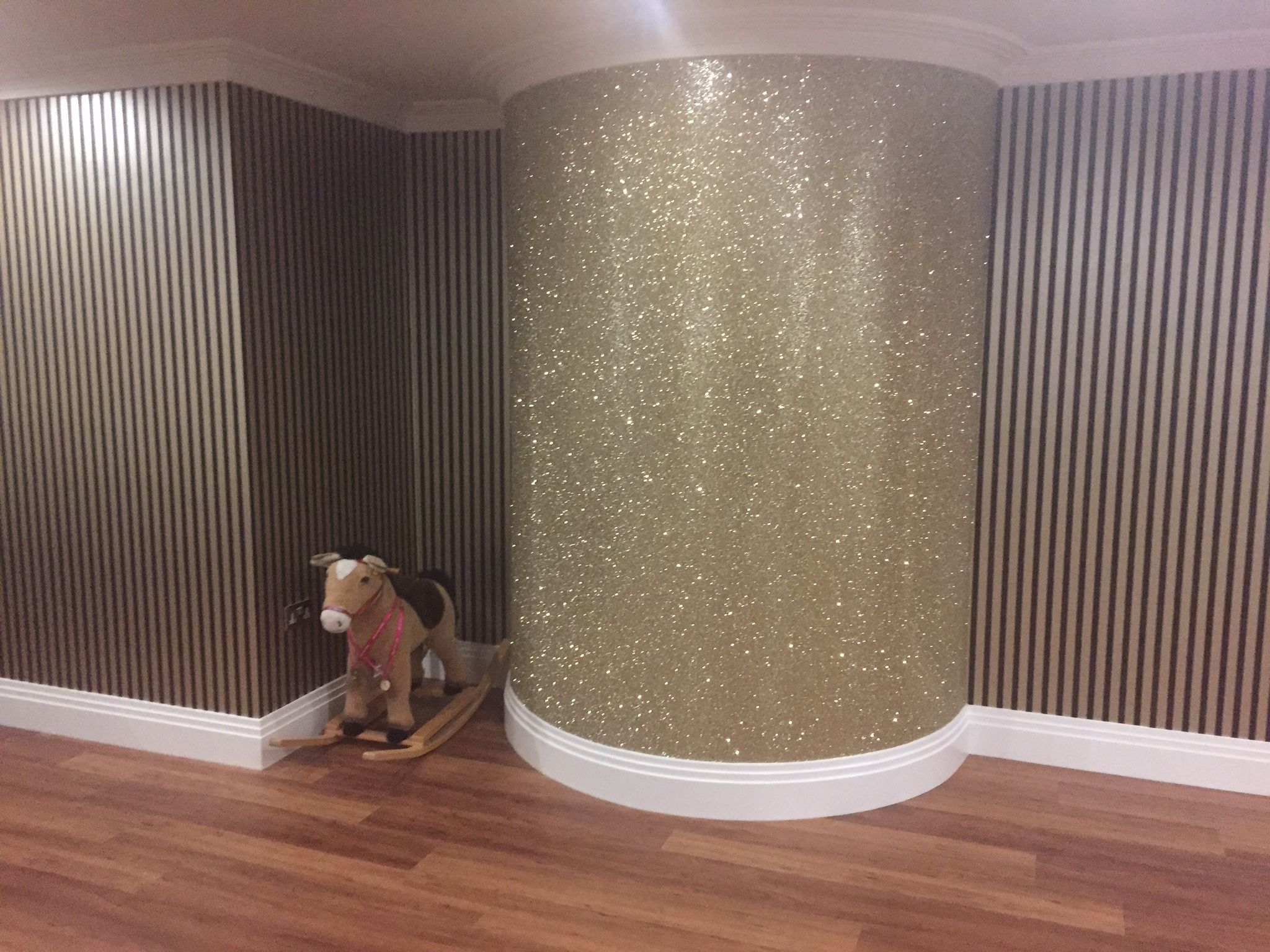 Glitter Wall Paint Glitter Wallpaper Bedroom Glitter
