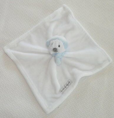 Details about Blankets & Beyond White Lovey Security Blanket Plush Seal/Otter Earmuffs Blue EU #securityblankets This lovey is in excellent, gently loved condition. #securityblankets