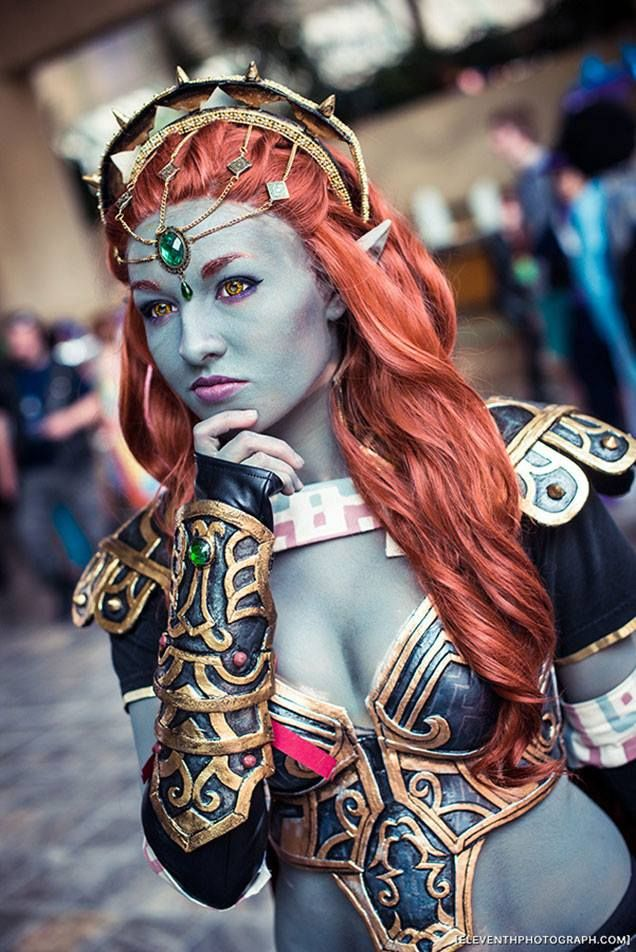Lady Ganon #cosplay by Ely Renae. Photo by eleventhphotograph.com