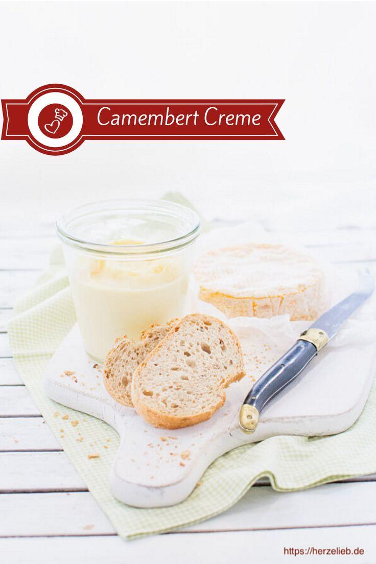Camembert Creme Rezept - sahnig, würzig, lecker! (Brotaufstrich)