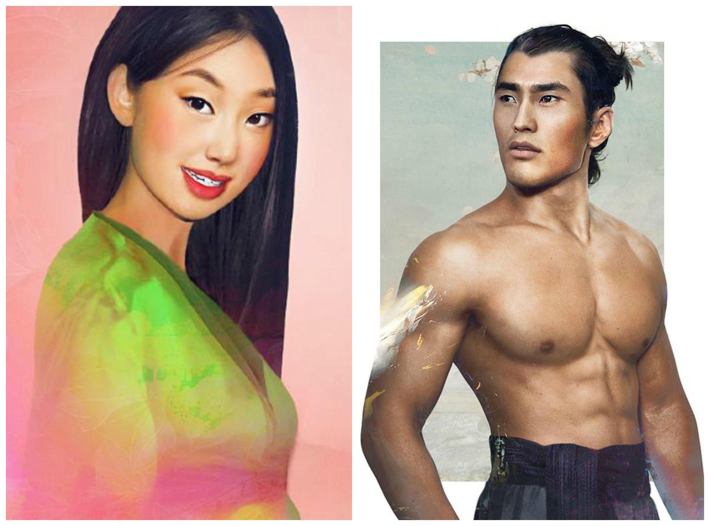 Mulan And Captian Li Shang As Real Life Characters By Jirka