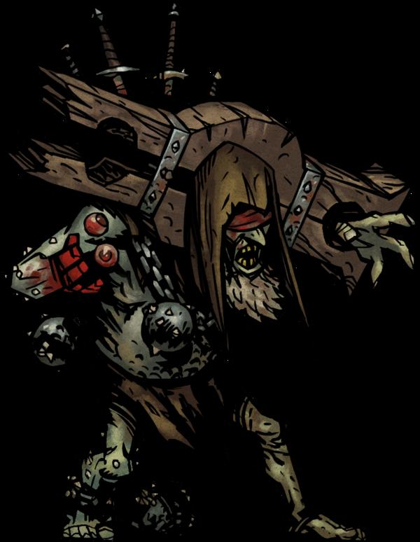 Prophet Sprite There Was A Man Who Decried The Ancestor As A Harbinger Of Doom Darkest Dungeon Dungeon Boss Dark Fantasy