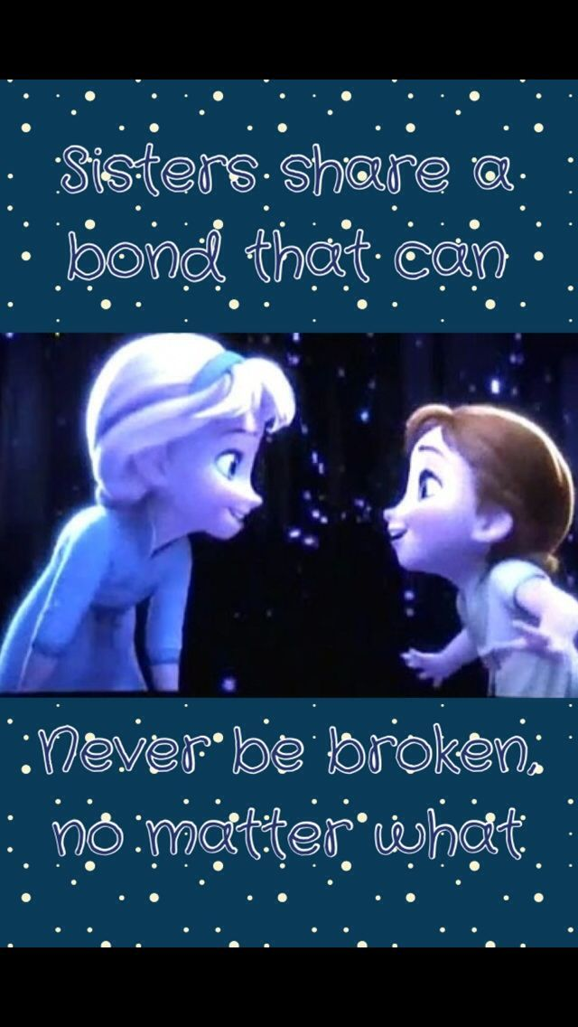 Sister Quotes From Frozen