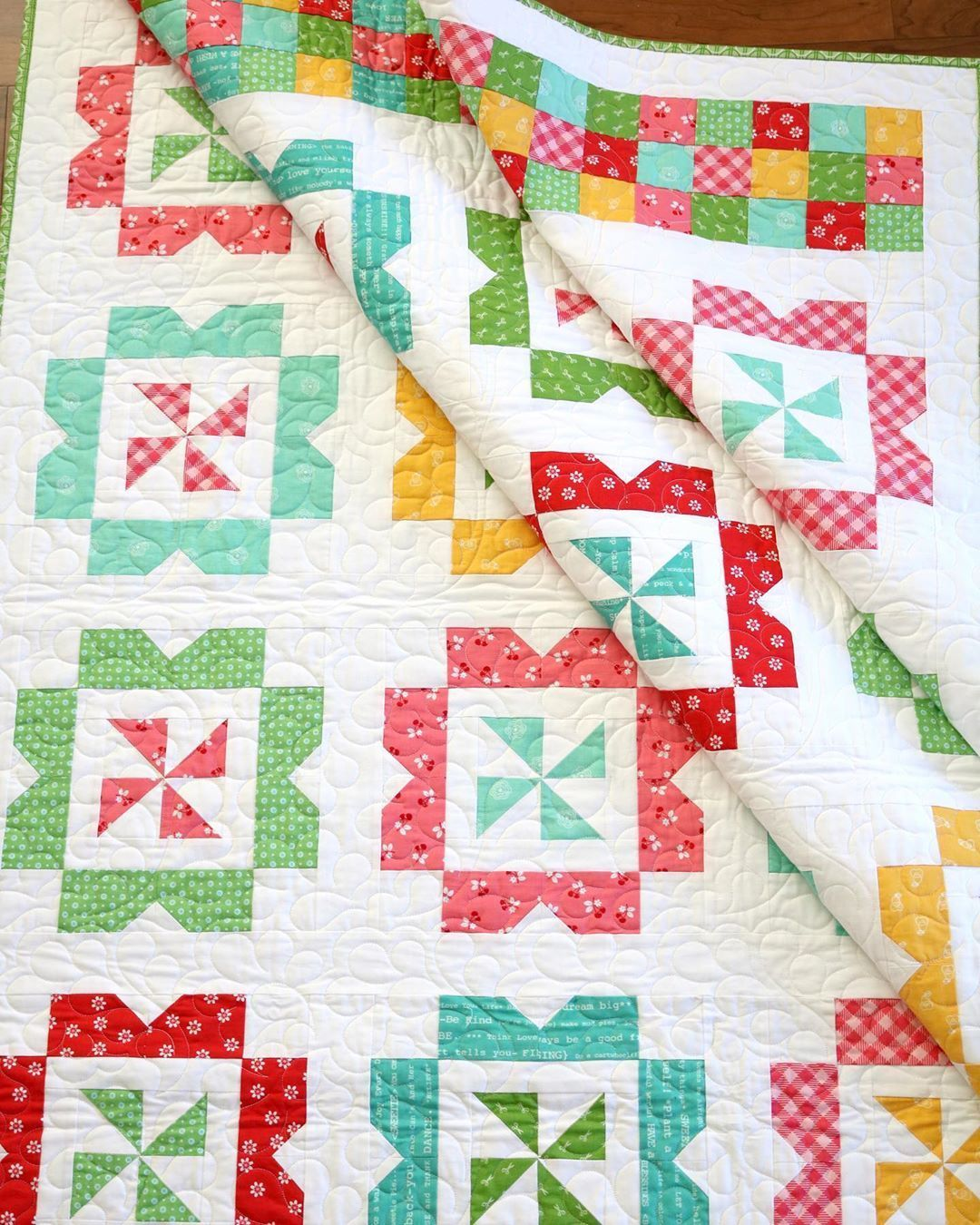 Sweet Wishes Quilt Pattern By A Bright Corner In 2020 Book Quilt Quilts Quilt Patterns