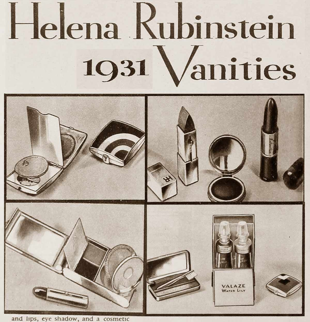 The Top Hollywood Beauty Gifts of Christmas 1931   Vintage