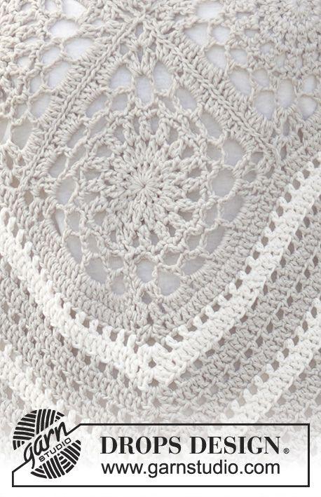 Free Pattern | ropa en crochet | Pinterest | Ponchos, Chal y Ganchillo