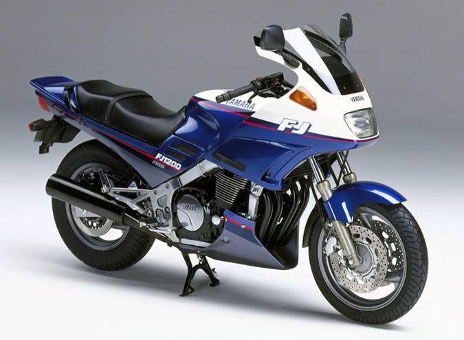 Yamaha Fj1200 自動車 車