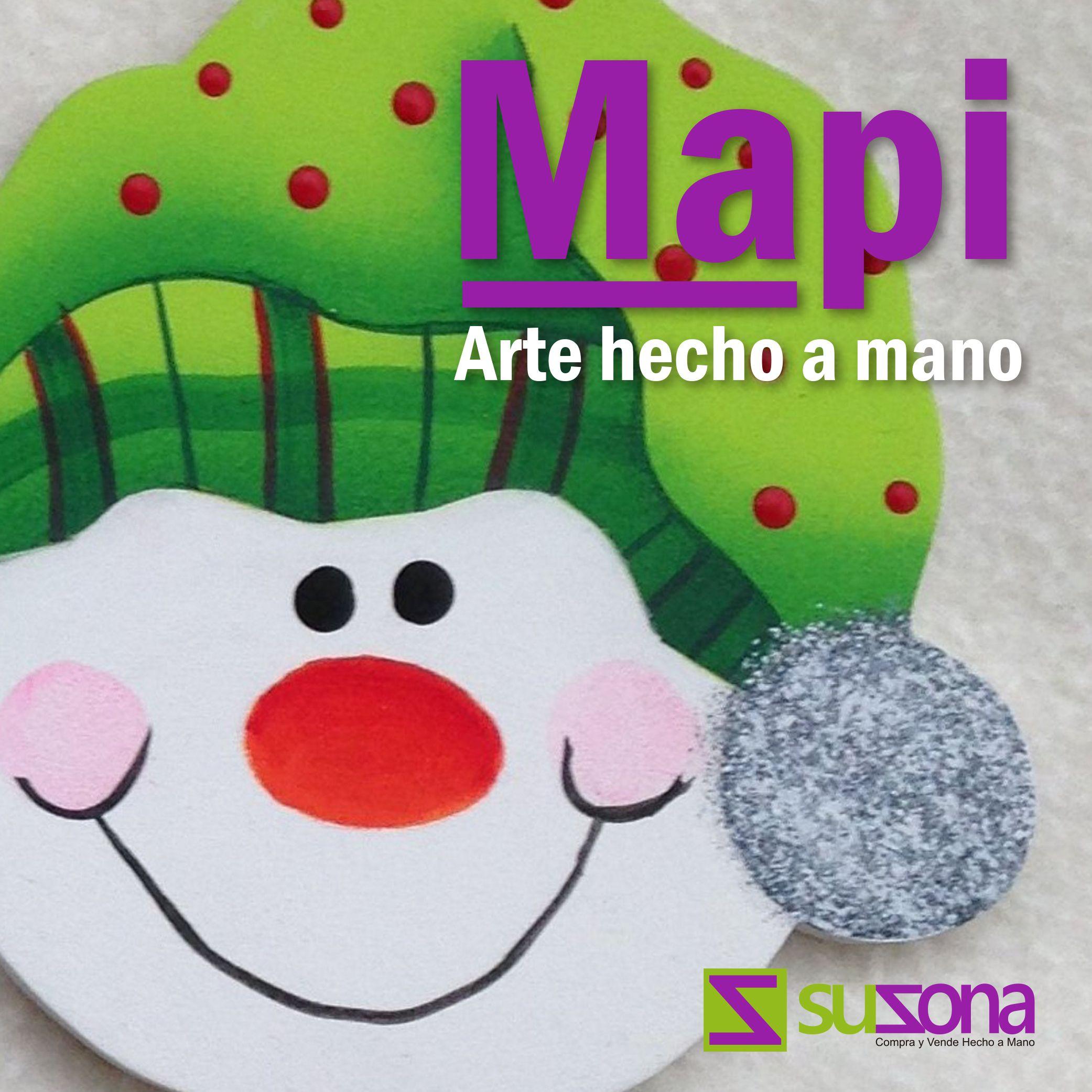 Conoce los artículos navideños de nuestra #TiendaVirtual Mapi, productos elaborados 100% a mano.