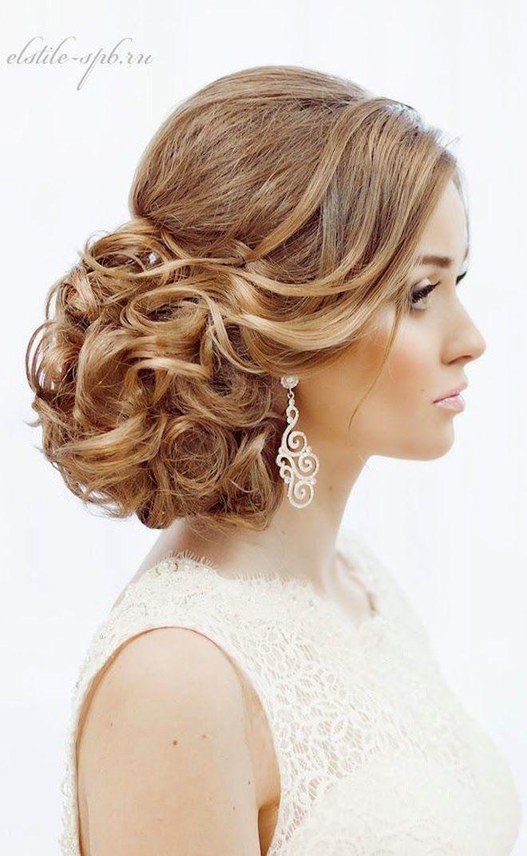 18 Jaw Dropping Wedding Hairstyles Peinados, Cayendo y Boda
