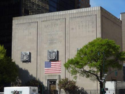 New York City Nyc Brooklyn Battery Tunnel Mib Headquarters