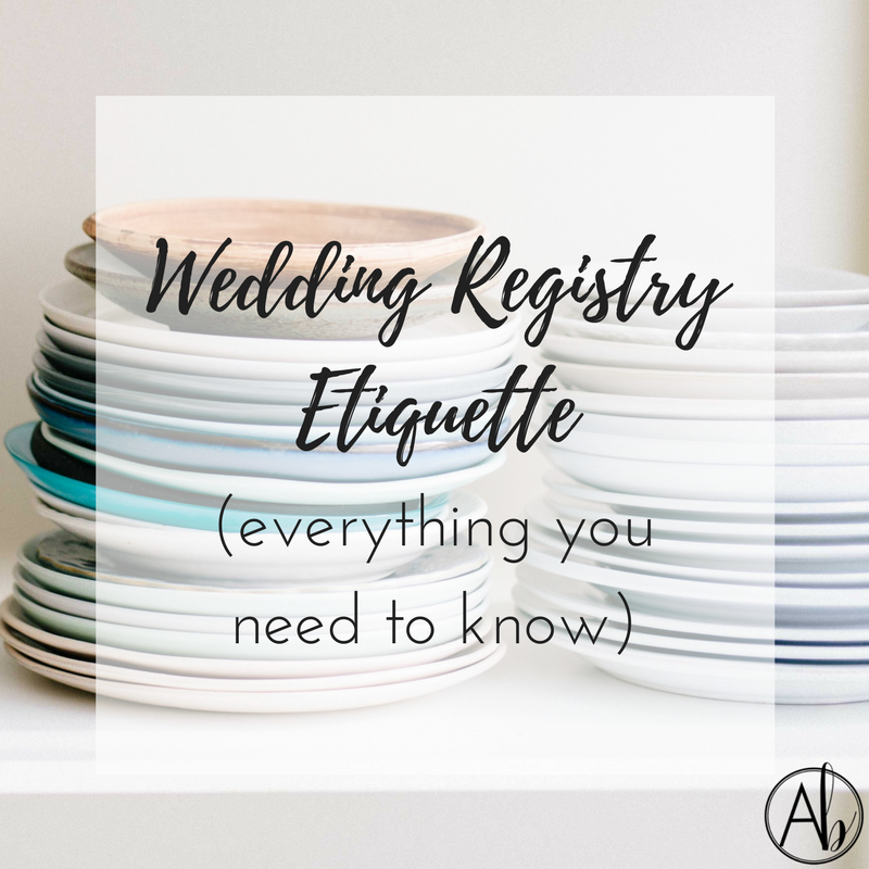 Gift Etiquette For Destination Weddings: Wedding Registry Etiquette (Everything You Need To Know