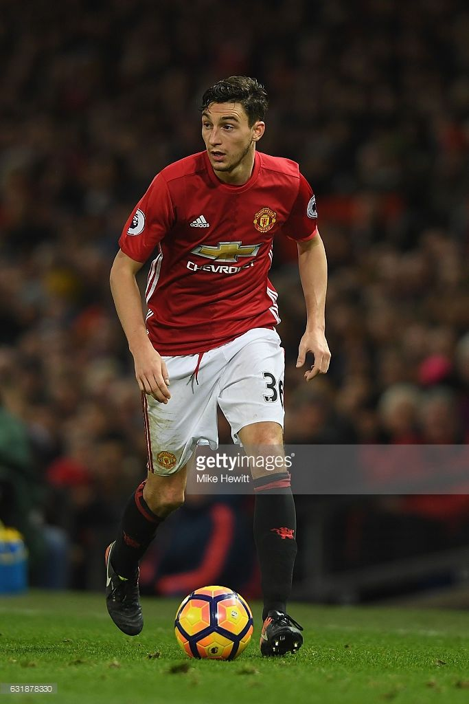 Matteo Darmian Of Manchester United In Action During The Premier Manchester United Football Club Manchester United Manchester United Football