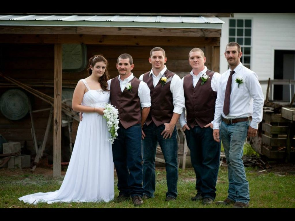 Yellow white rustic wedding with the groom best man and grooms yellow white rustic wedding with the groom best man and grooms men in dark ombrellifo Image collections