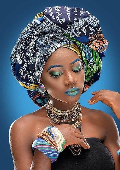 Wunderschöne 49 Head Wraps für afroamerikanische Frauen #afrikanischerstil