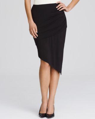 Lyssé Asymmetric Drape Skirt | Bloomingdale's