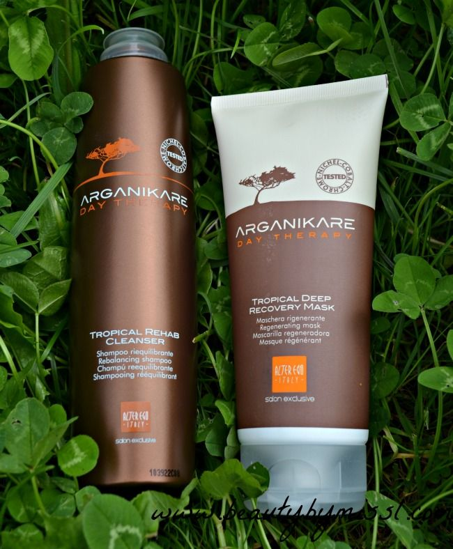 20ece11aef8 Alter Ego Italy Arganikare Day Therapy shampoo & hair mask review via  @beautybymissl