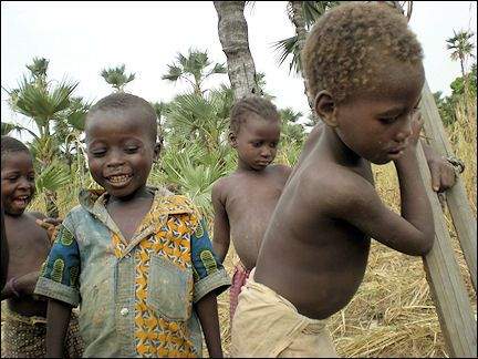 Burkina Faso - Village children