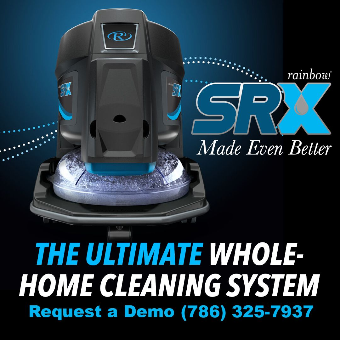 Start the year 2020 with a New Vacuum! The Rainbow SRX has