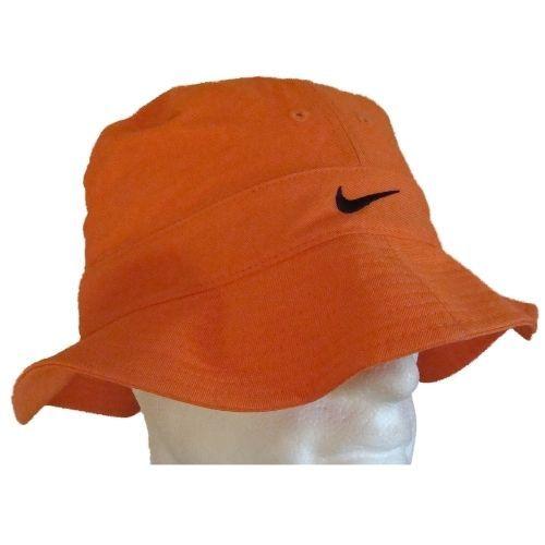 dd81406a584 NIKE BUCKET HAT CAP - ORANGE - UNISEX - MENS WOMENS - SIZES M
