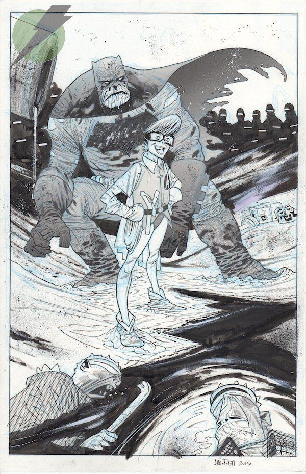 The Dark Knight Rises - Batman and Robin by James Harren *