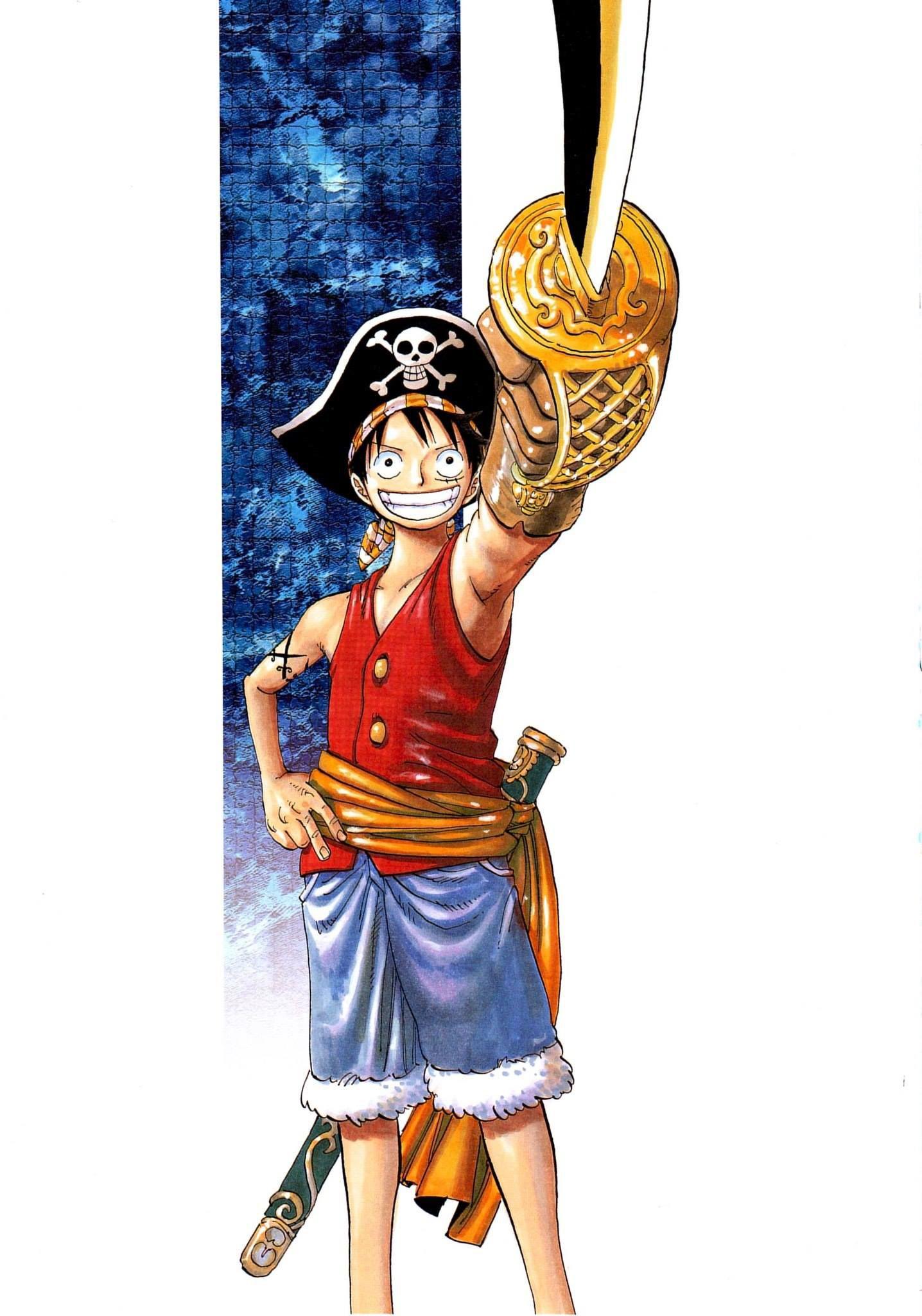 One Piece - 0001 Art Colletion One Piece - 0001 Art ...
