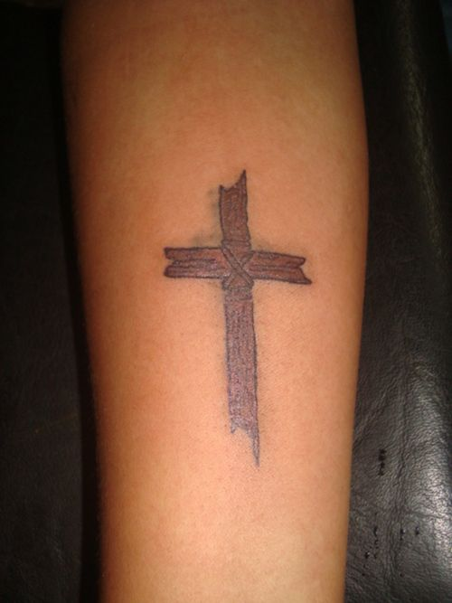 be9e8ae9e Holy Cross Tattoos | Fans (1) | Cross & Crown of Thorns | Wooden ...