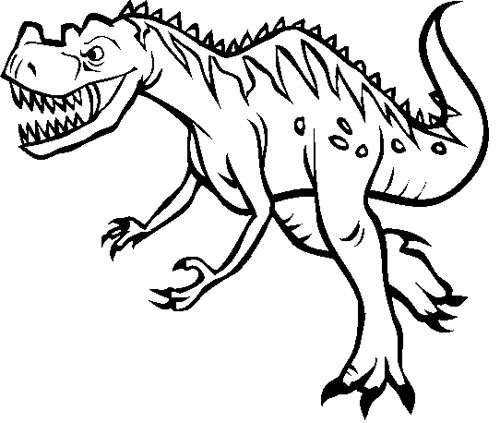 Ceratosaurus Coloring Page Dinosaur Pinterest Website - copy animal dinosaurs coloring pages