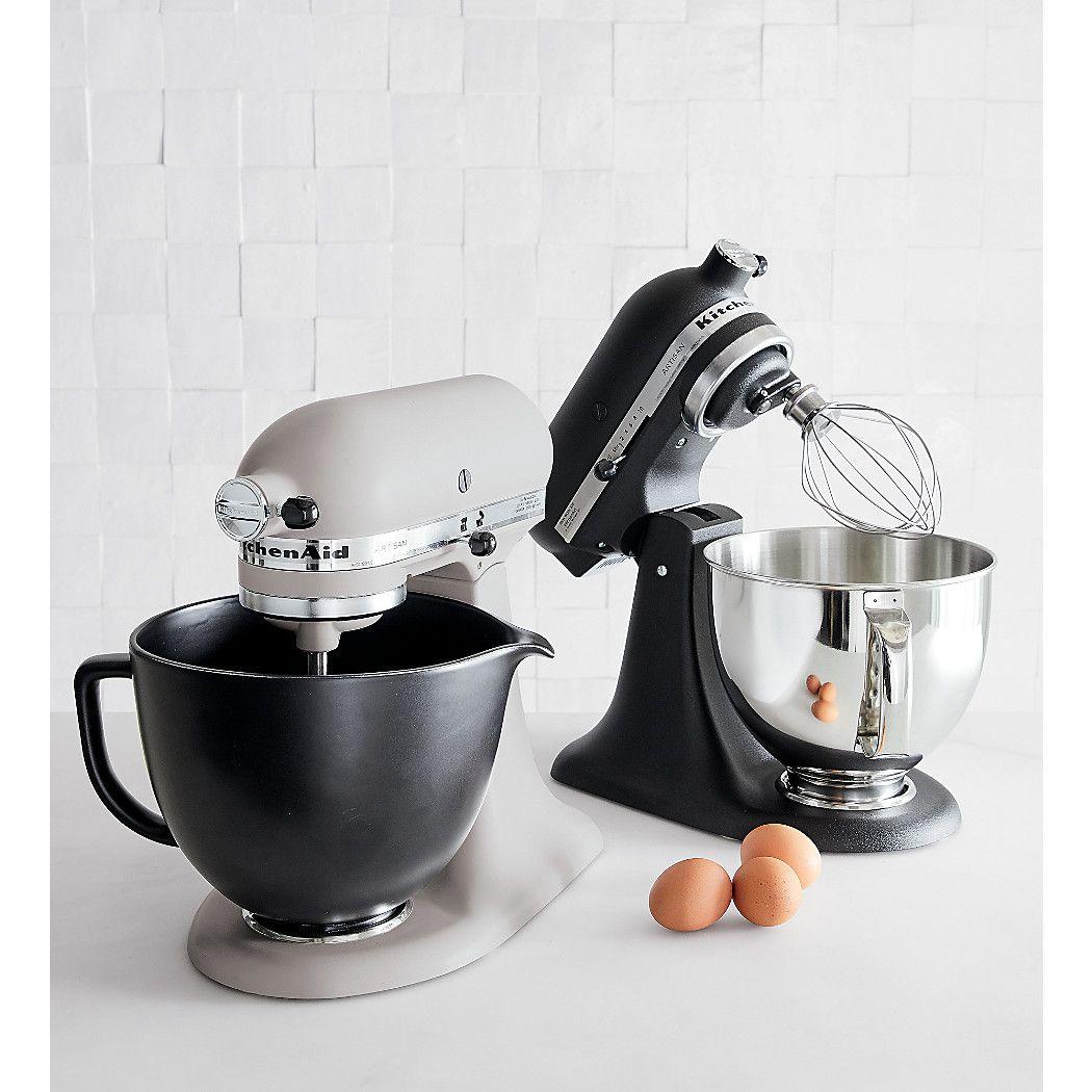 Kitchenaid Ceramic Matte Black Bowl Reviews Crate And Barrel Kitchenaid Artisan Kitchen Aid Black Bowl