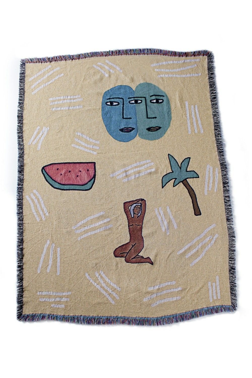 Beach Party Woven Throw via bfgfshop. Click on the image to see more!