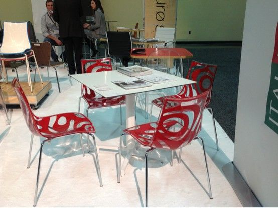 We Love These @Euro Style Furniture Chairs From HD Expo. Just Imagine What  They