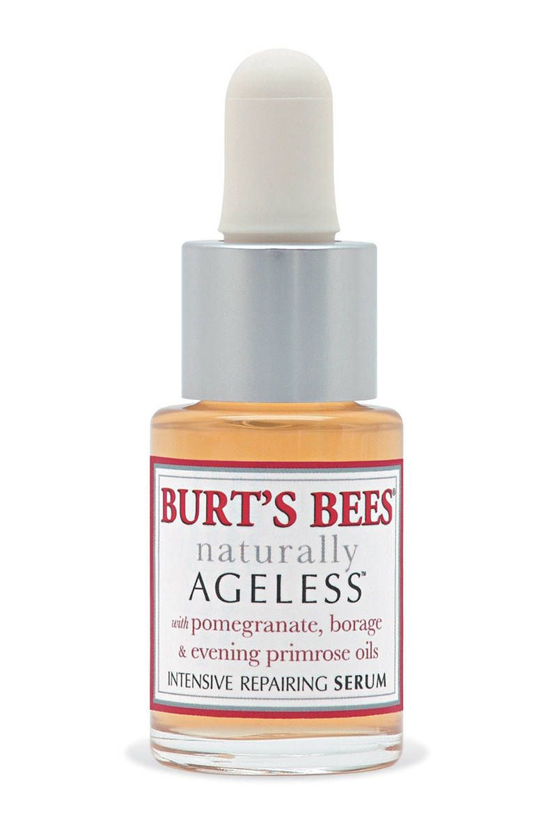 Burt's Naturally Ageless Intensive Repairing Serum Emma Stone's Makeup - Best Drugstore Buys - Harper's BAZAAR (Good for sensitive skin!)