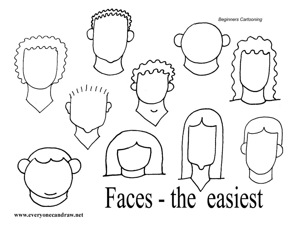 Easy faces tangled up in doodling pinterest cartoon for Drawing ideas for beginners step by step