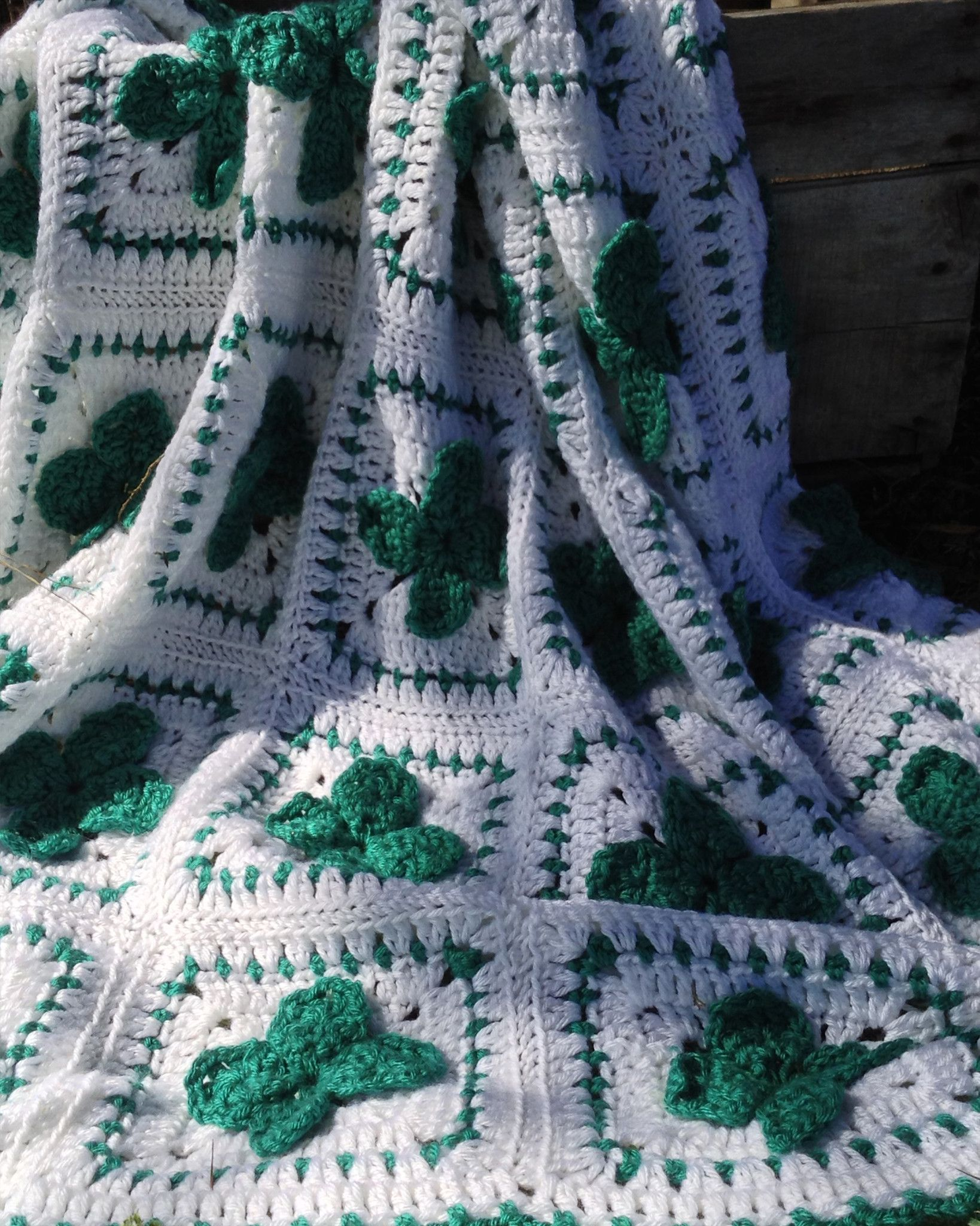 St. Patricks Day Afghan Crochet Pattern