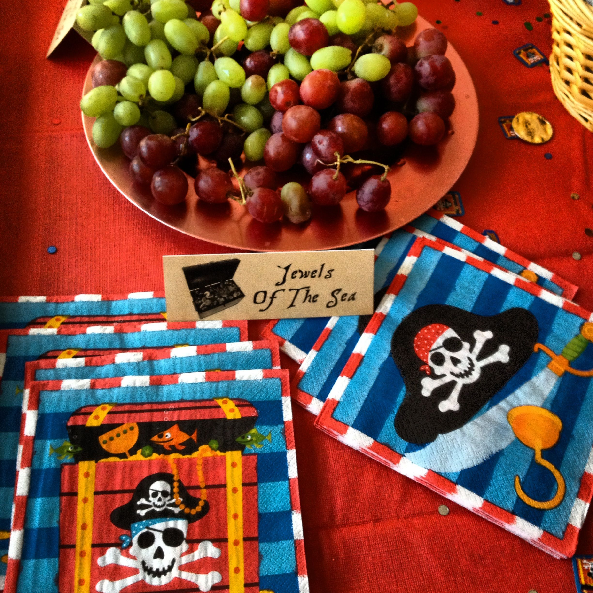 pirate baby shower food table idea jack e boy pinterest